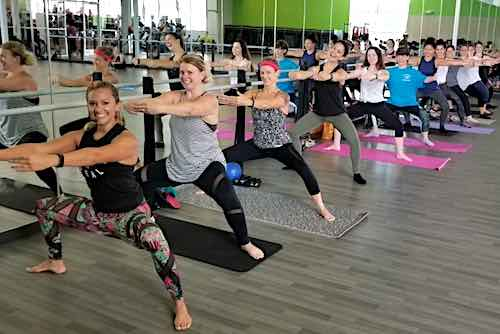 Group Fitness EDGE barre