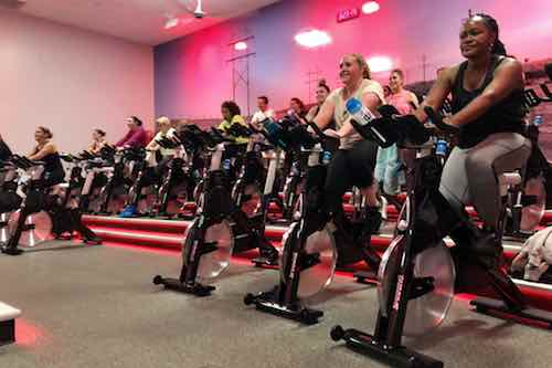 Group Fitness Spin