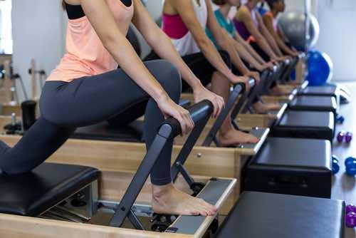 Pilates classes reformer machines