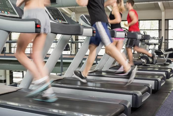 Fitness HIIT treadmill